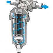 Permaster-Trinkwasserfilter Rückspülung