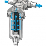 Permaster-Trinkwasserfilter Schnitt
